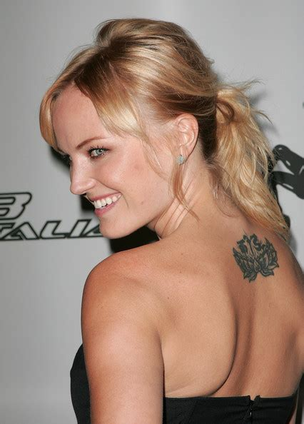 malin tattoo malin akerman flower flower lookbook