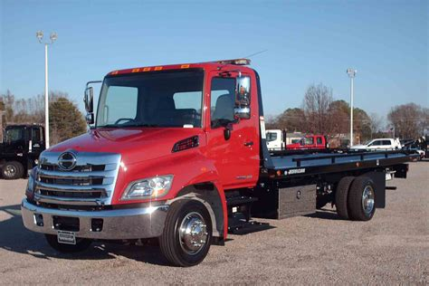 flat bed tow truck towing hino flatbed tow truck pictures