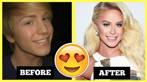 before and after mtf and ftm transgender youtube 10 amazing before and after transgender transformations