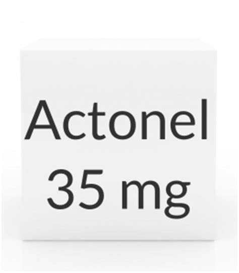 Actonel 35mg 1 actonel 35 mg tablets 12 tablet pack