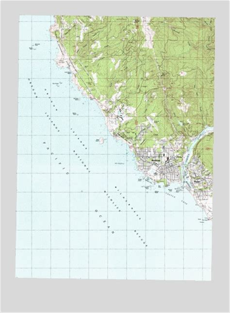 map of brookings oregon brookings or topographic map topoquest
