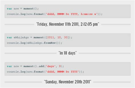 javascript format date using moment parsing manipulating formatting dates with moment js