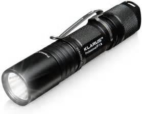 klarus p1a tactical led flashlight thinkgeek