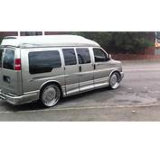 RUCCI RIMS ON THE 04 CHEVY EXPRESS VAN  YouTube