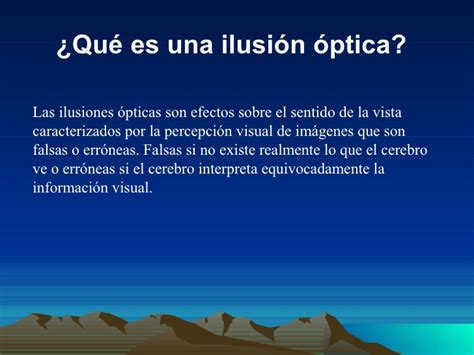 ilusiones opticas powerpoint power point ilusiones