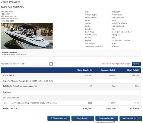 older used boat values marine connect online book values