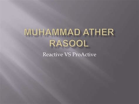 the spirited human proactive tools for a reactive world books ather proactive vs reactive