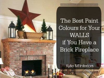 best paint colors to pair with brick walls paint colours best paint and brick fireplaces on