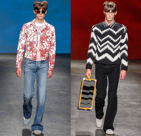 hippie mens fashion trends topman design 2015 spring summer mens runway looks denim