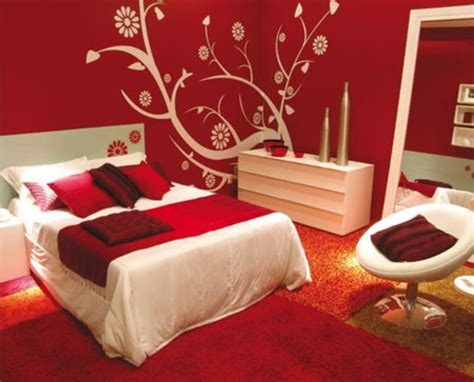 dark red paint bedroom bedroom decorating ideas with calm red paint colours