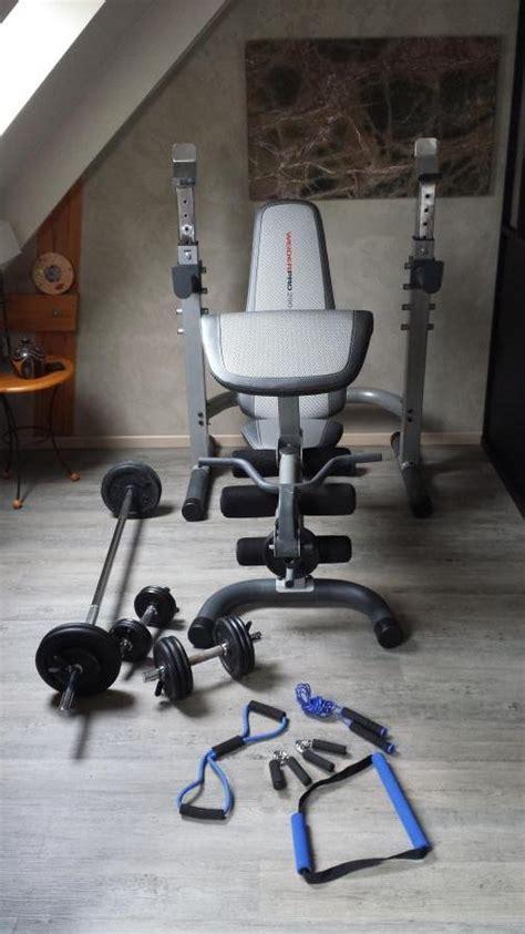 banc de musculation weider pro troc echange banc de musculation weider pro 290 cw sur troc