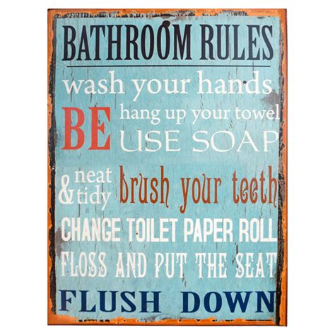 home decor rules bathroom rules wall decor pinterest home decor