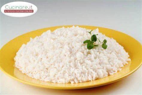 cucinare il riso in bianco ricetta riso in bianco cucinare it