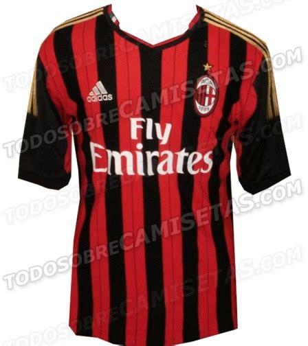 Ac Neuva la nueva camiseta ac milan 2013 2014 futbol de primera