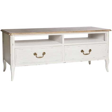 poitiers white shabby chic tv unit tv unit homesdirect365