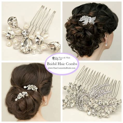Vintage Bridal Hair Combs by Bridal Hair Combs And By Hair Comes The