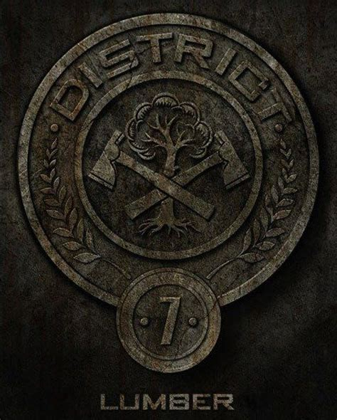 hunger games district themes district 7 symbol www imgarcade com online image arcade
