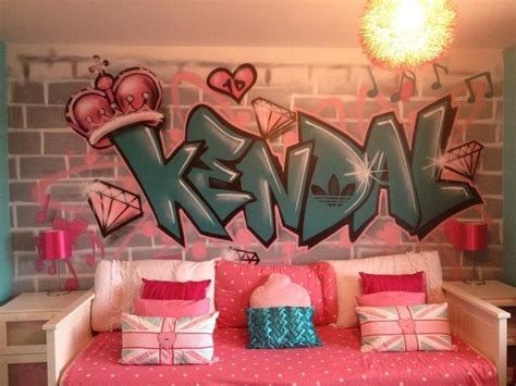 How To Use Graffiti To Give Character To Your Home Graffiti Designs For Bedrooms