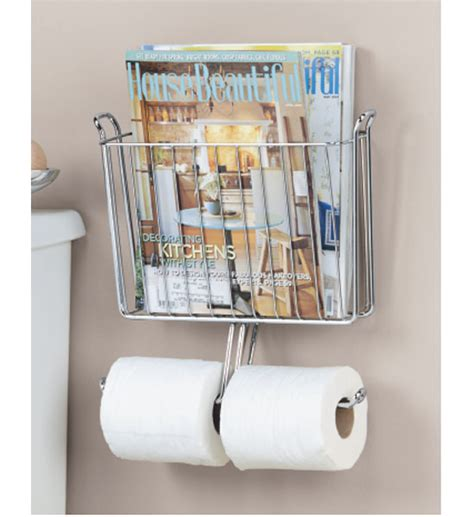 magazine holder for bathroom magazine and toilet paper holder in bathroom magazine racks