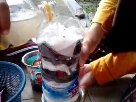 cara membuat megazip cara membuat alat penjernih air sederhana youtube