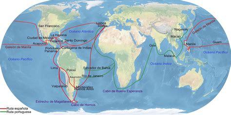 wiki rutas archivo principales rutas comerciales del imperio espa 241 ol