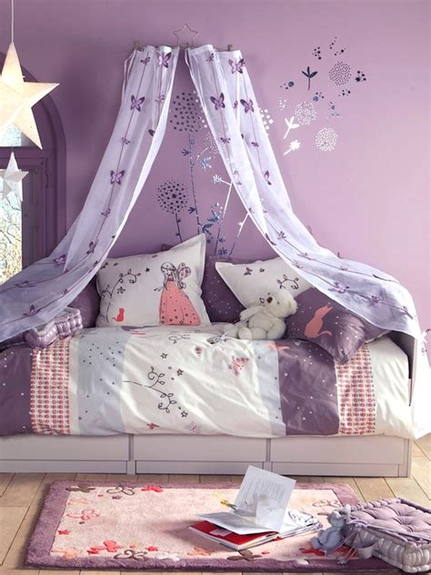 Draped Bedroom Ceiling by Girls Room Bed Canopy Sheer Bed Curtain Ideas