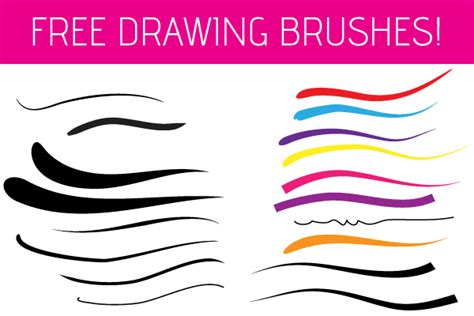 illustrator pattern brush free download free illustrator drawing brushes vector graphic 365psd com