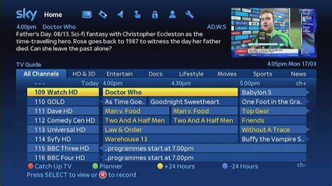 sky guide for android sky launches new look tv guide with overhauled on demand catch up and search recombu