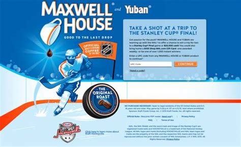 Ultimate Sweepstakes - maxwellhouse com hockeyfansweeps ultimate hockey fan sweepstakes sweepstakes pit