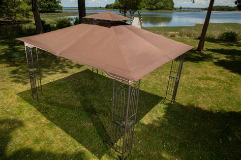 deck awnings with mosquito netting gazebo 10 x 12 regency ii patio canopy with mosquito
