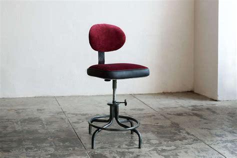 vintage drafting stool with back vintage drafting stool with back by royal metal