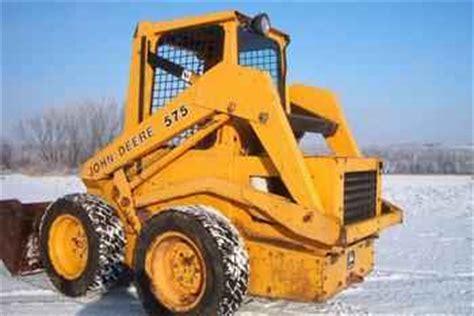 Used Farm Tractors For Sale John Deere 575 Skidsteer