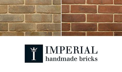 Imperial Handmade Bricks - additional waterstruck handmade bricks now available