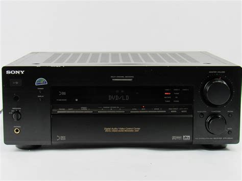 epic sony str db home theater stereo receiver ohm