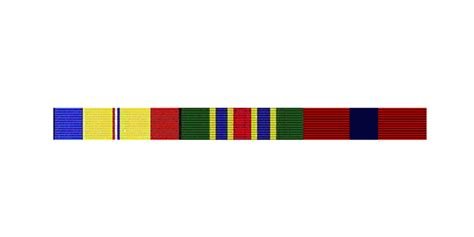 Flat Rack Ribbons by Ribbon Mounting Services Precision Medals