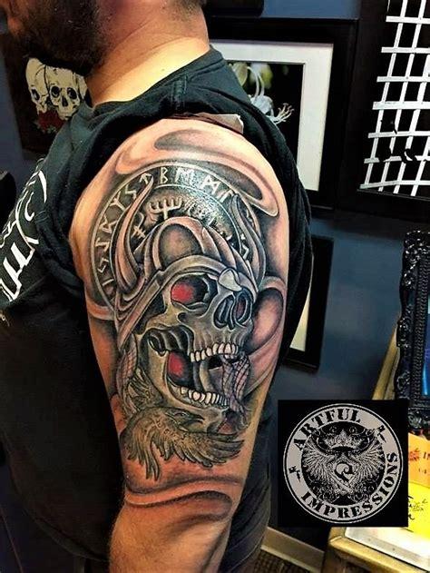 veteran tattoos done on kyle veteran us army in memory of his
