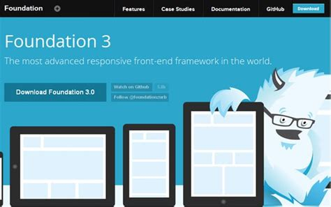 web design layout framework responsive web design frameworks for lazy and savvy developers