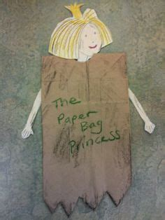 Paper Bag Princess Craft - make your own paper bag princess includes a printable