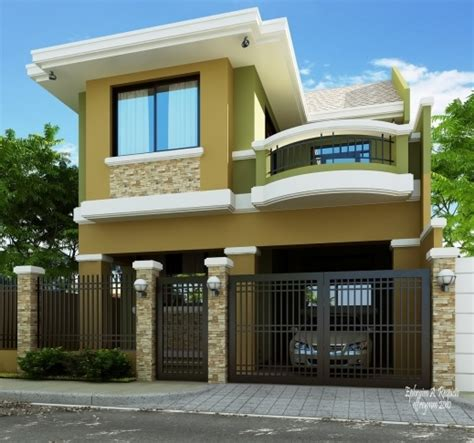 home design for small homes wonderful small two story house plans philippines iloilo