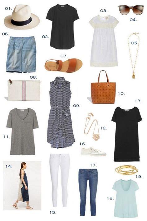 summer essentials the effortless chic wardrobe