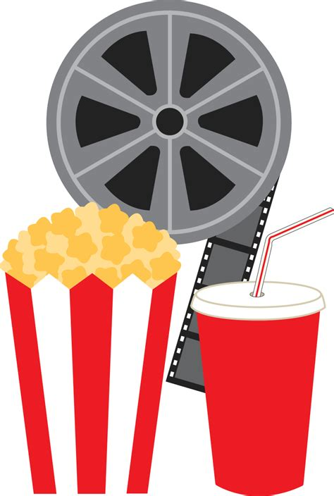 clipart images popcorn clip black and white images 2019