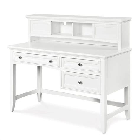 Small White Desk With Hutch Magnussen Y1875 Kenley Desk With Hutch Small White Writing Desk