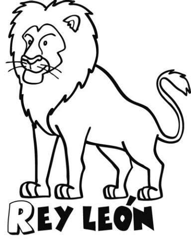 Dibujo para imprimir y pintar del Rey León. Dibujos de