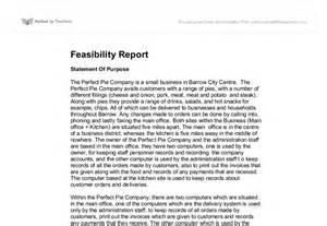 Feasibility Report Sample Pdf Feasibility Report A Level Ict Marked By Teachers Com