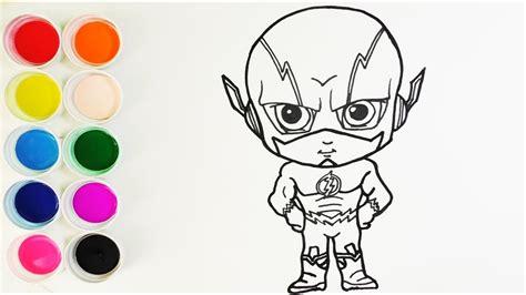 imagenes niños dibujos c 243 mo dibujar y colorear flash dibujos para ni 241 os how