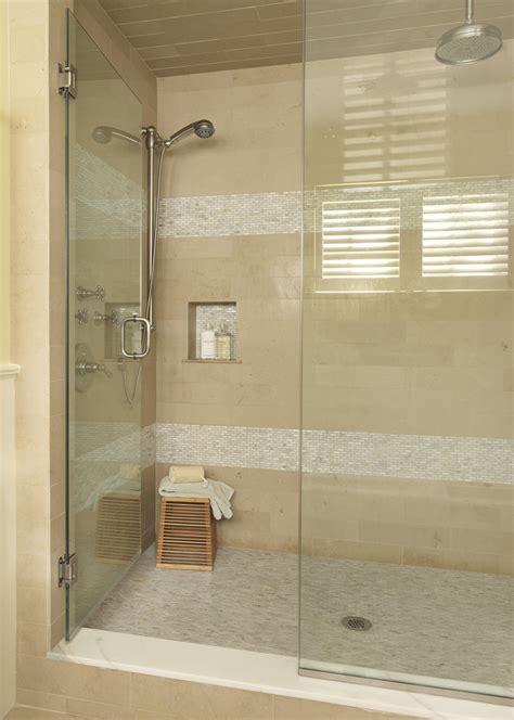 Modern Bathroom Accent Tile Shower Accent Tile Bathroom Mediterranean With Indented