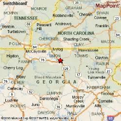map of blairsville blairsville