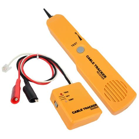 electrical wire tracker portable rj11 network phone telephone cable tester toner