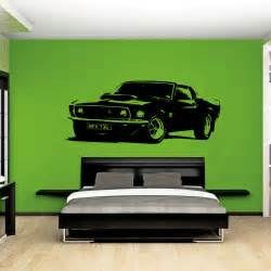 xl large car ford mustang 1969 muscle free squeegee wall free shipping shelby gt ford mustang muscle racing car