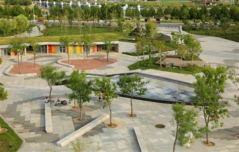 cultural plaza park  landscape architecture works